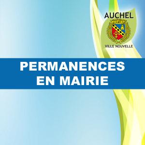 LES PERMANENCES EN MAIRIE