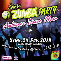 Soirée ZUMBA Party