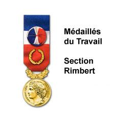 MEDAILLES DU TRAVAIL SECTION RIMBERT