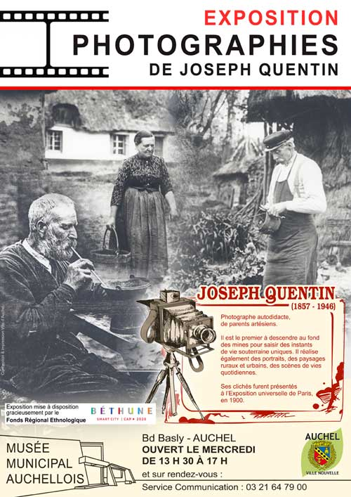 EXPOSITION PHOTOGRAPHIES DE JOSEPH QUENTIN