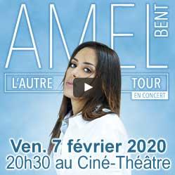 Amel Bent à Auchel