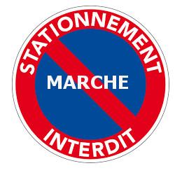 STATIONNEMENT INTERDIT LORS DU MARCHE HEBDOMADAIRE