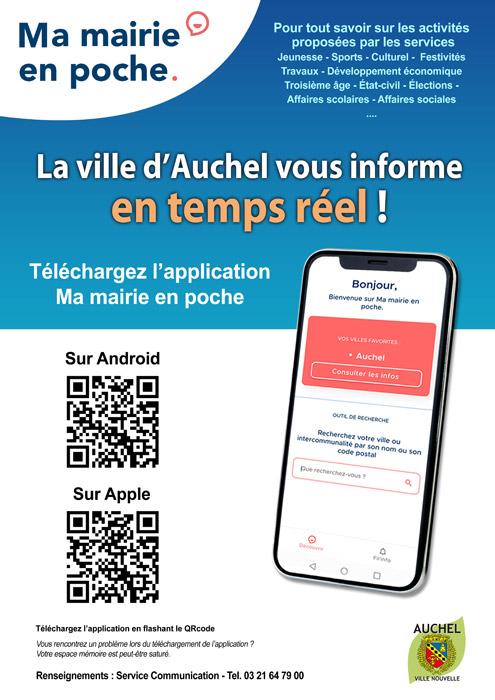 Téléchargez l'application Ma Mairie en Poche