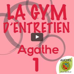 Vidéo Gym d'entretien Agathe 1