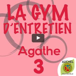 Vidéo Gym d'entretien Agathe 3
