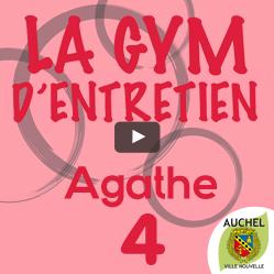 Vidéo Gym d'entretien Agathe 4