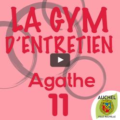 Vidéo Gym d'Entretien Agathe 11