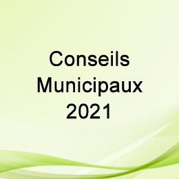 LES CONSEILS MUNICIPAUX 2021
