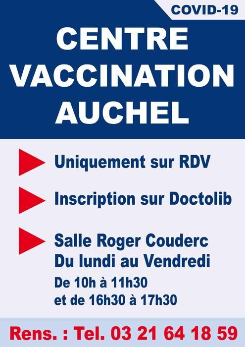 CENTRE DE VACCINATION COVID-19 A AUCHEL