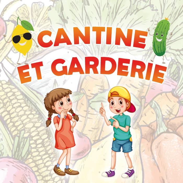 CANTINE ET GARDERIE – REGLEMENT INTERIEUR