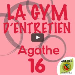 Vidéo Gym d'Entretien Agathe 16