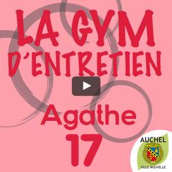 Vidéo Gym d'Entretien Agathe 17