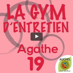 Vidéo Gym d'Entretien Agathe 19