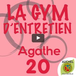 Vidéo Gym d'Entretien Agathe 20