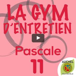 Vidéo Gym d'Entretien Pascale 11