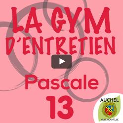 Vidéo Gym d'Entretien Pascale 13