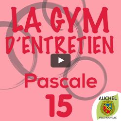 Vidéo Gym d'Entretien Pascale 15