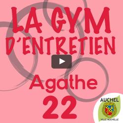 Vidéo Gym d'Entretien Agathe 22