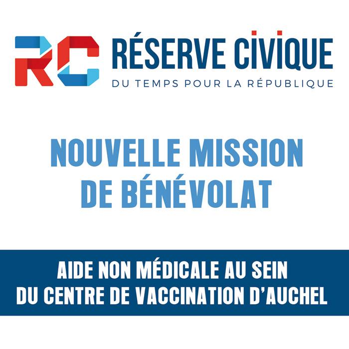 ON RECHERCHE DES BENEVOLES AU CENTRE DE VACCINATION D'AUCHEL