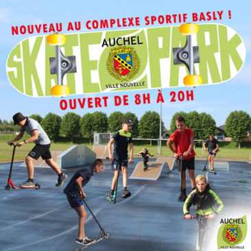 Nouveau Skatepark à Basly